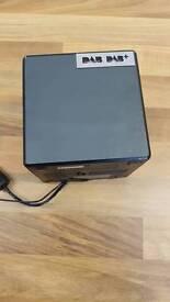 Radio Clock dab/fm Sony XDR-C1DBP