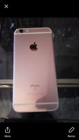 iPhone 6s rose gold unlocked to any network