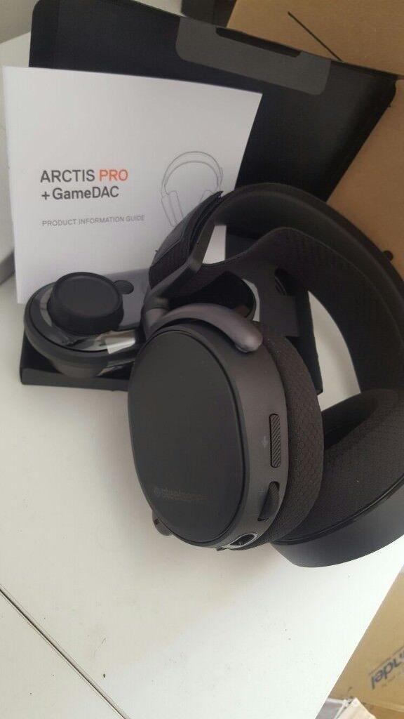 Bargain! Arctis Pro +Gamedac £140!!