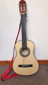 acoustic guitar 3/4 excellent condition bargain