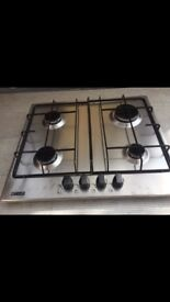 Zanussi Stainless Steel Gas Hob New and Unused