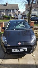Fiat Punto 1.4 jet black limited edition