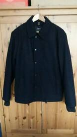 NEXT Men's Navy Wool Coat Size Large Worn Once