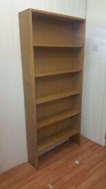 Sturdy wooden bookshelves wall shelves shop home clearance furniture 01