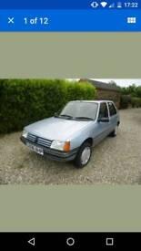 Peugeot 205 1.6 Automatic 1990 46500 miles!