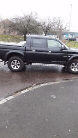 Mitsubishi L220. 2005 plate. 12 Months MOT. Good condition for age.