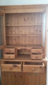 SOLID PINE COUNTRY KITCHEN DRESSER VERY NICE RUSTIC PIECE FREE LOCAL DELIVERY AVAILABLE 07486933766