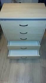 Bedroom drawers.