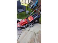 Grizzly Electric Lawnmower. Very good condition.