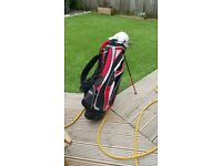 Golf bag and full set of Irons