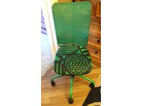 Ikea swivel chairs on wheels (3 colours)