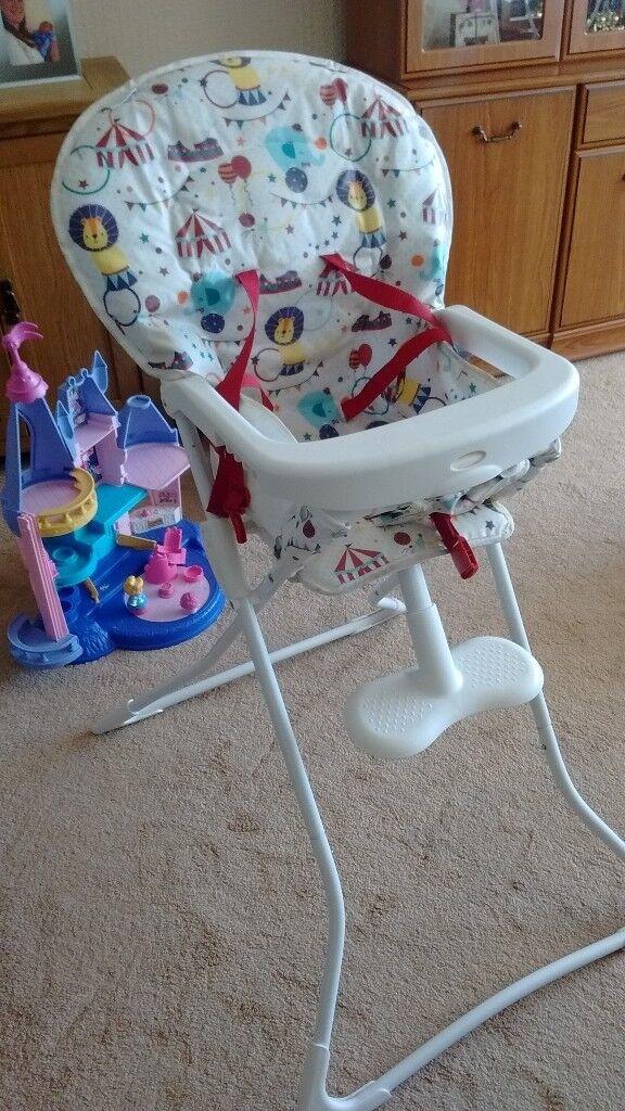 Graco high chair from asda