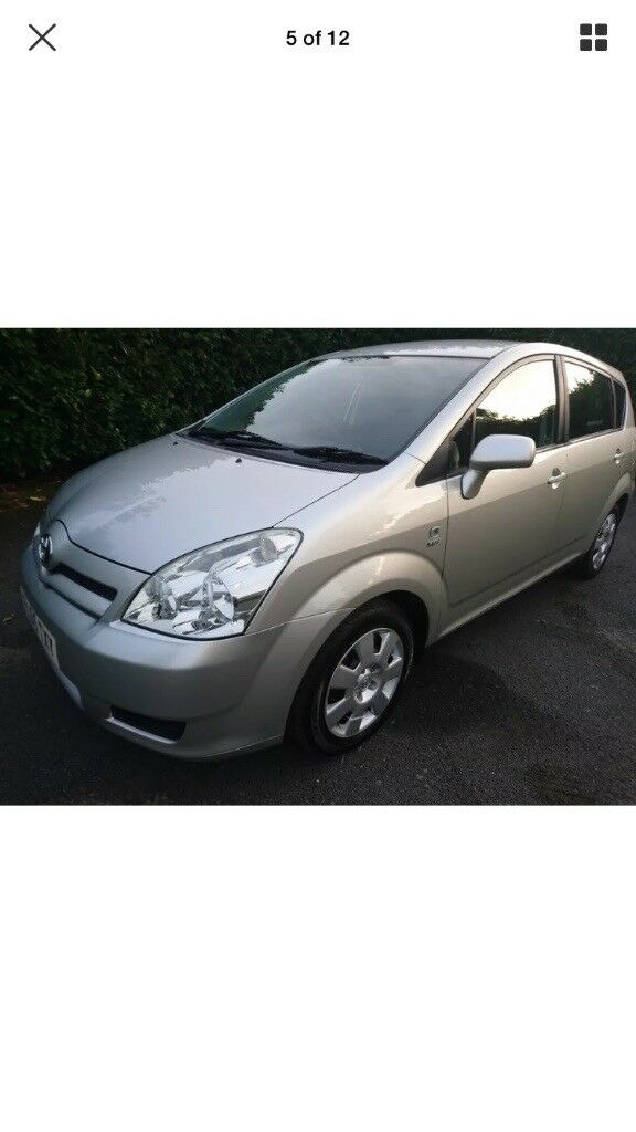 7 seater Toyota verso ,full mot ,one owner