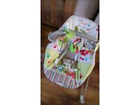 Fisher price bouncy vibrate chair, great condition, stevenston, 15.00