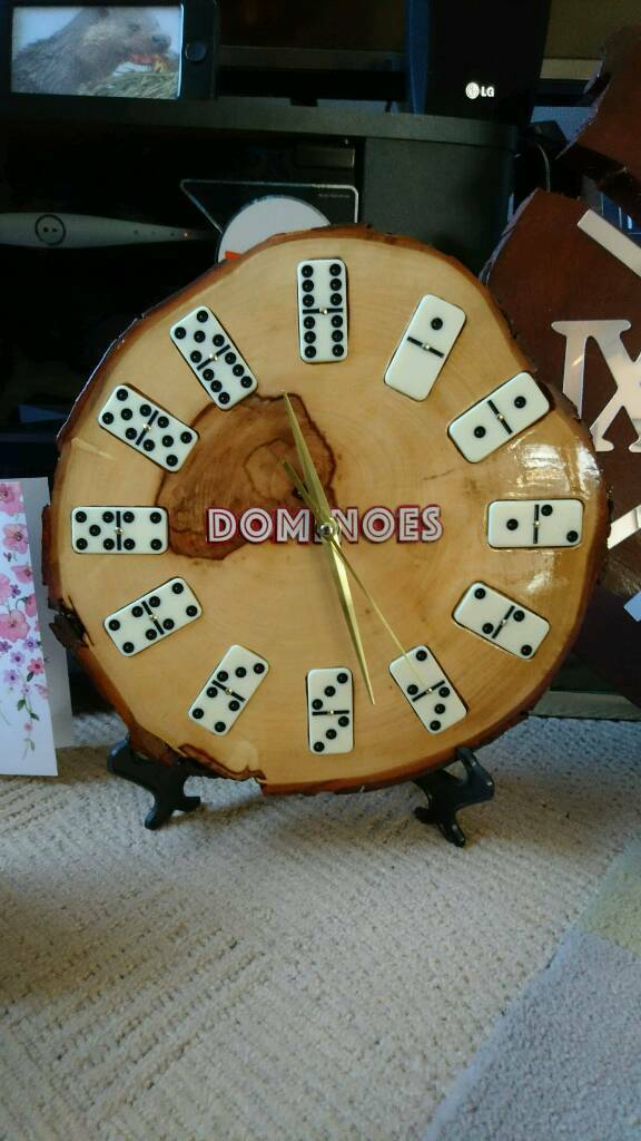 Unusual Domino's clock
