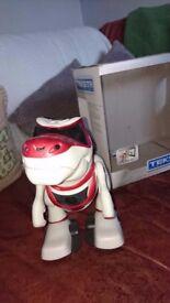 Teksta t-rex robot childrens toy