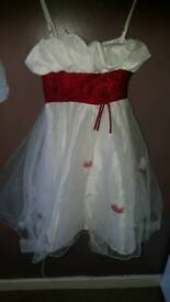 Girls party dress new condition
