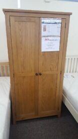 Julian Bowen Marlborough 2 Door Wardrobe Can Deliver