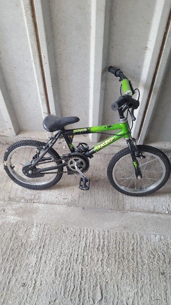 Childrens raleigh balance bike