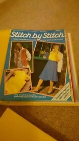Collection of stitch by stitch magazines