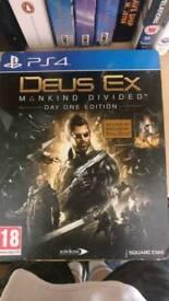 Deus Ex Day One Steelbook Edition PS4