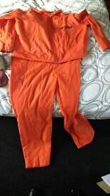 Mens prisoner suit