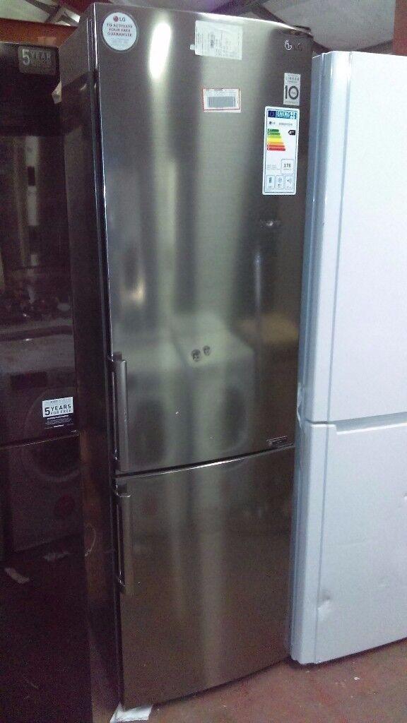 LG Frost free fridge freezer ex display
