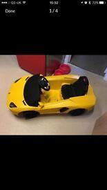 Lamborghini battery car