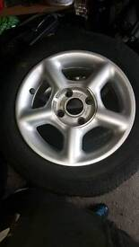 ESCORT GTI ALLOYS 14""