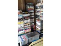 HUNDREDS & HUNDREDS OF COLLECTABLE & GENERL VHS VIDEO FIS
