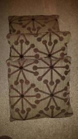 3 x Dfs cushions