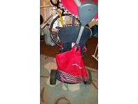 Toddlers red smartrike