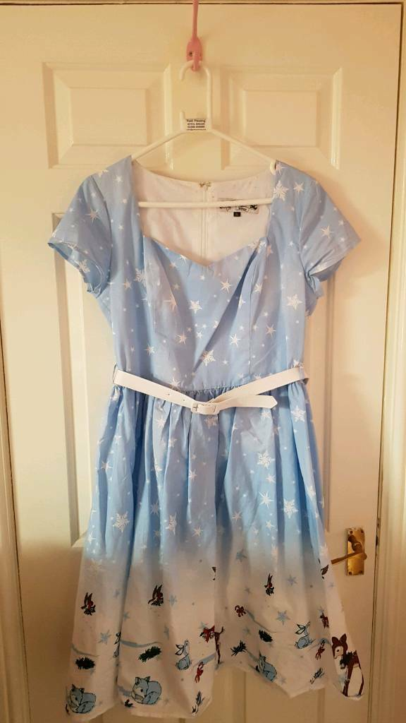 Vintage style christmas dress
