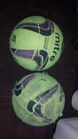 Mitre indoor football's size 5