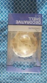 NEW Crystalite Glass Clear Spot Effect GLS Decorative Shell