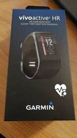 Garmin Vivoactive HR GPS sport watch Brand New