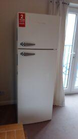 Montpellier 60cm Wide Tall Fridge - Cream [Energy Class A+]