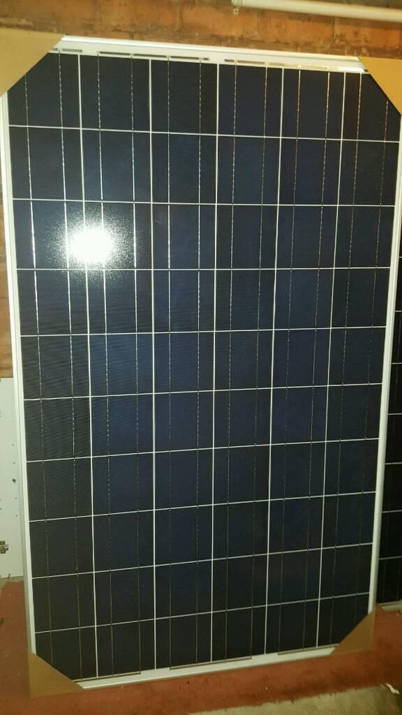 255w PV Solar panels brand new