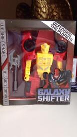 Toy car brand new and excellent condition. Galaxy shifter flying through the universe.