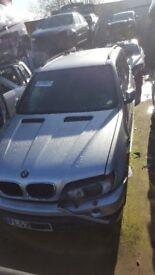 Breaking BMW X5