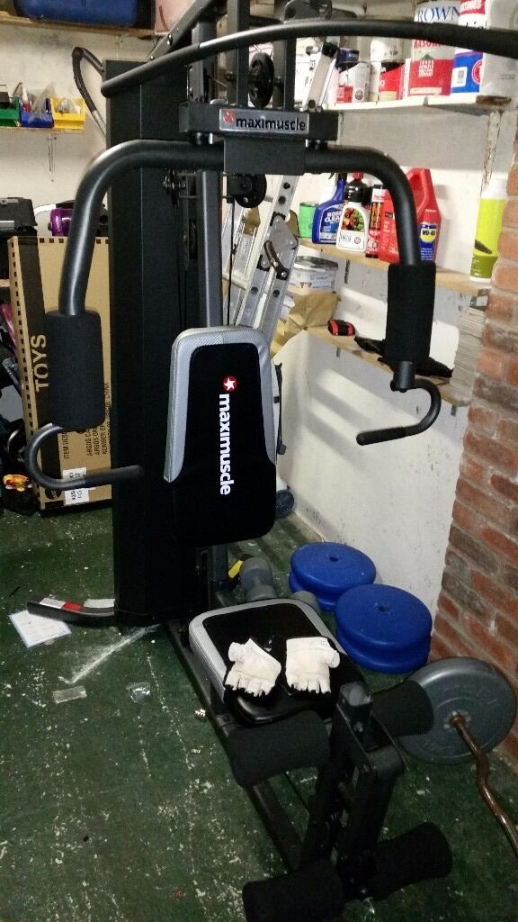 Maximuscle home gym/multigym