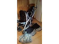 Graco Double Buggy - Very good condition - Pet free and smoke free home