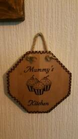 Mother's Day present. Mummy's Kitchen sign