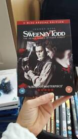 Sweeney Todd 2 Disc Special Edition DVD