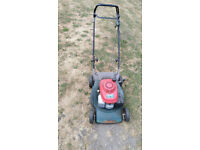 self propelled hayter jubilee lawnmower honda 5.5hp engine graveyard rough cut verge