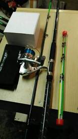 Evp2 sea (4tip) rod brand new and new mitchell reel