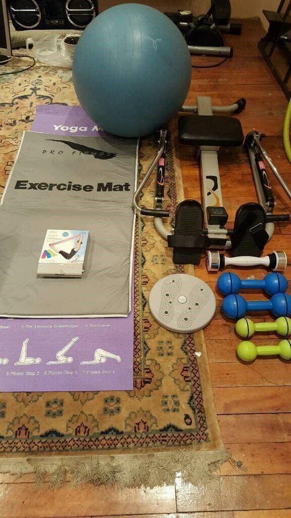 ROWING MACHINE AND OTHER KEEP FIT STUFF