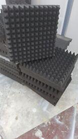 Professional Acousic foam 100mm thick £160