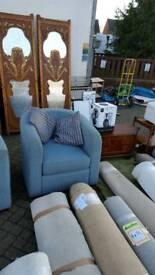 Sofa and 2 bucket chairs