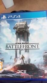 Star wars battlefront 1 and homefront the revolution